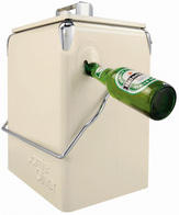 2d523a6c245 Jamie Oliver Cool Box. Waterproof cool box with attached bottle opener.  Simply fill with ice and add your bottles.